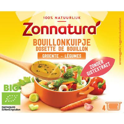 Zonnatura Bouillon kuipje groenten