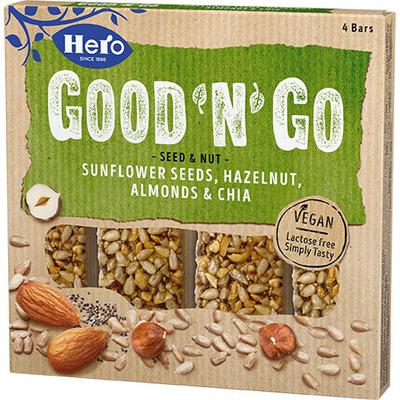 Hero Good'n'go sunfl hazelnut almonds chia