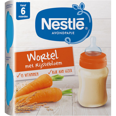 Nestlé Avondpapje wortel 6 mnd