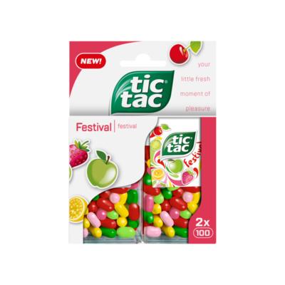 Tic Tac Festival 2 Dozen
