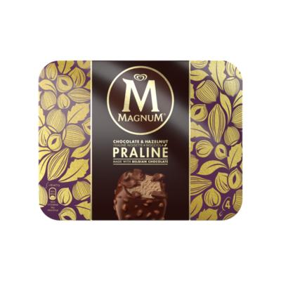 Magnum Hazelnut Chocolate Praline