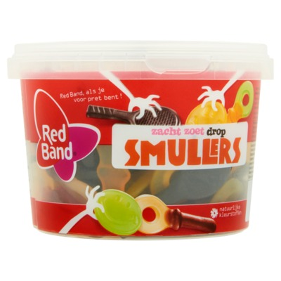 Red Band smullers 600 gram