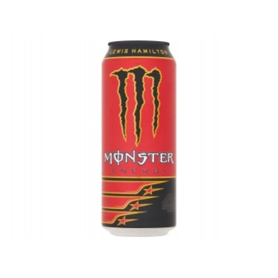 Monster Energy drink Lewis Hamilton