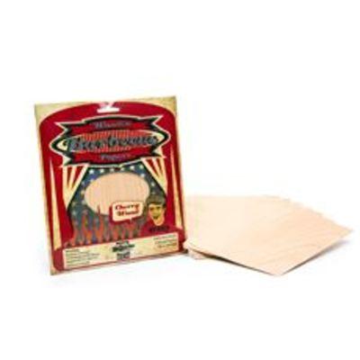 Axtschlag Wood papers cherry 19 x 15 cm 8 stuks