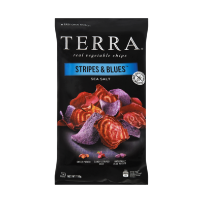 Terra Stripes & Blues Sea Salt