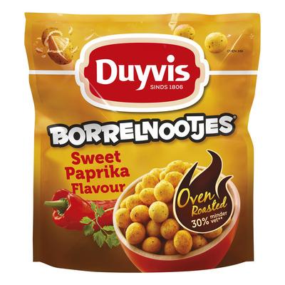 Duyvis Oven roasted borrelnoten sweet paprika