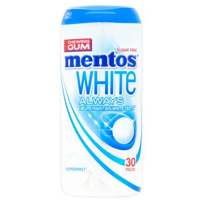 Mentos Peppermint Always White