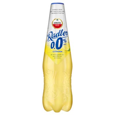 Amstel Radler 0.0 Bier Citroen PET-Fles