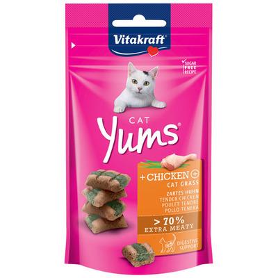 Vitakraft Cat yums met kip en kattengras