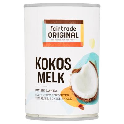 Fairtrade Original Kokosmelk 400 ml