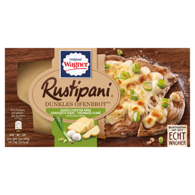 Original Wagner Rustipani Bruin Ovenbrood Gerookte Kaas 175 g