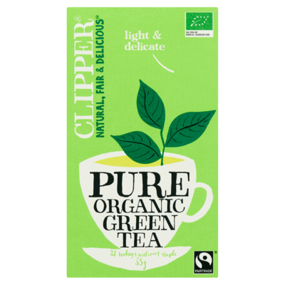 Clipper Pure Organic Green Tea 20 Zakjes 35 g
