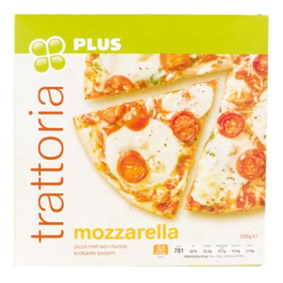 Huismerk Trattoria pizza Mozzarella