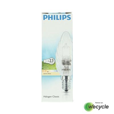 Philips Halogen Classic gedraaide kaarslamp E14/18W (23W)