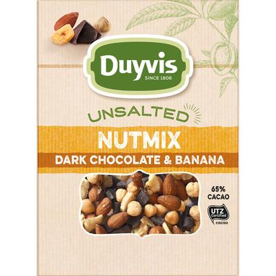 Duyvis Unsalted dark chocolate & banana