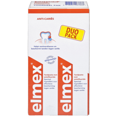 Elmex Tandpasta Anti-Caries duo