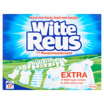 Witte Reus Wasmiddel poeder wit