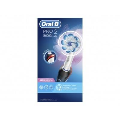 Oral-B Elektrische tandenborstel Pro 2000 zwart