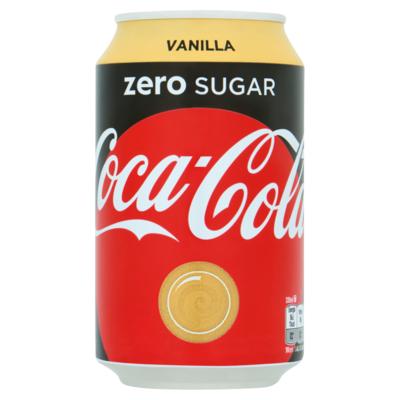 Coca Cola Zero Sugar Vanilla 330 ml