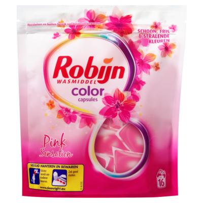 Robijn Wasmiddel capsules pink sensation