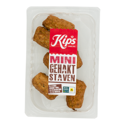 Kips Mini gehaktstaaf