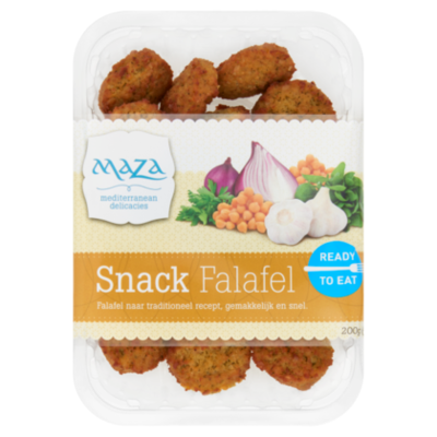 Maza Falafel snacks