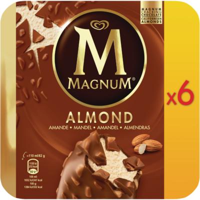Ola Magnum almond 6 stuks