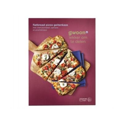 Huismerk Flatbread pizza geitenkaas