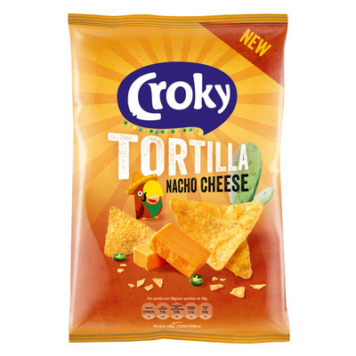 Croky Tortilla nacho cheese