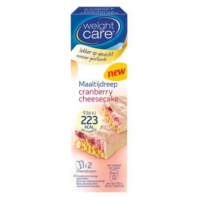 Weight Care Maaltijdreep Cranberry-cheesecake