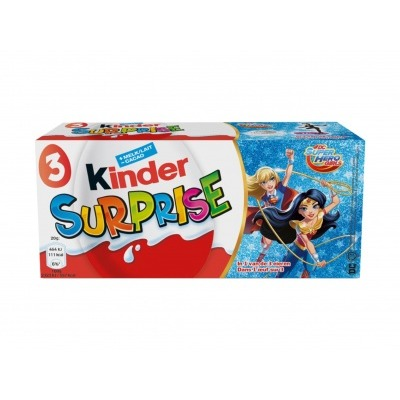 Kinder Surprise girls super hero