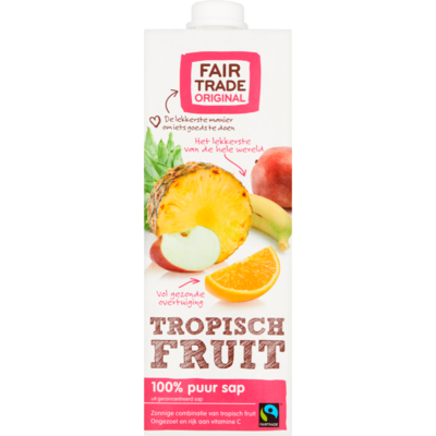 Fair Trade Original Tropischfruit sap