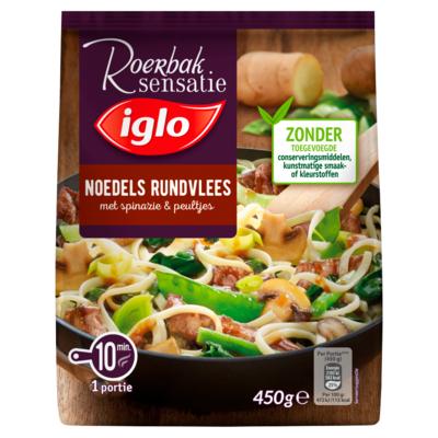Iglo Noodles rundvlees