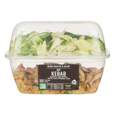 Huismerk Maaltijd & salade kip kebab