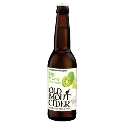 Old Mout Kiwi-Lime Cider Fles