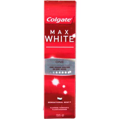 Colgate Tandpasta max white one