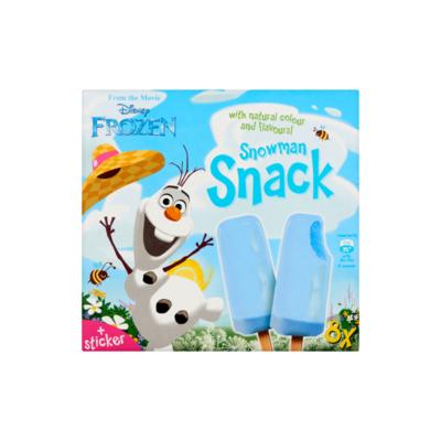 Disney Frozen Snowman Vanille-IJs met Bubblegum Aroma