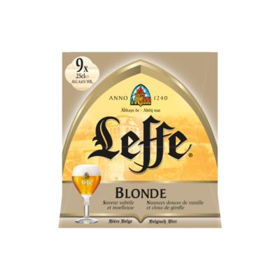 Leffe Blonde Flessen