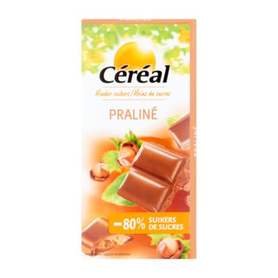 Céréal Minder Suikers Praliné Chocolade