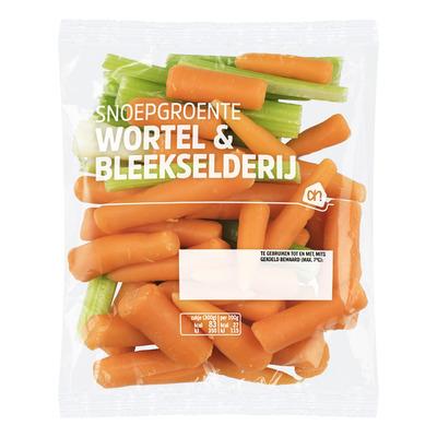 Huismerk Snoepgroente wortel-bleekselderij