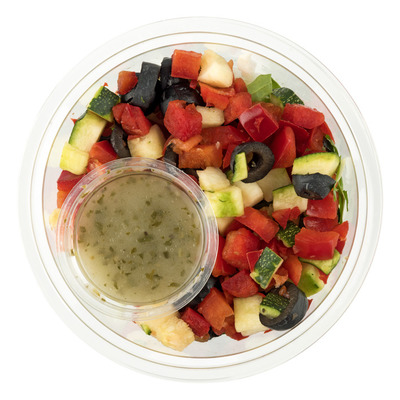 Huismerk Italiaanse salade met vinagrette