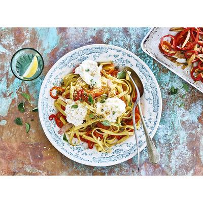 Allerhande Box Mediterrane tagliatelle tomaat & burrata