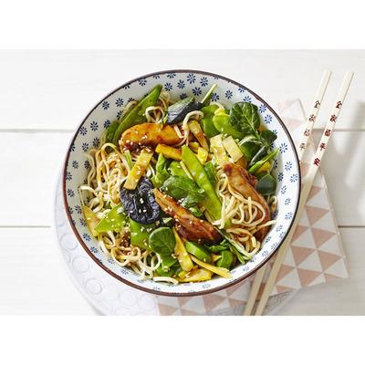 Allerhande Box Noedels met kip & aziatische wokgroente