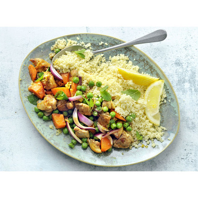 Allerhande Box Kip-groentetajine met couscous & munt