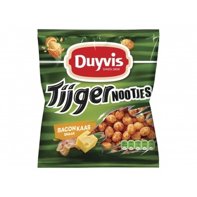Duyvis Tijgernoten bacon cheese