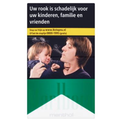 Marlboro Sigaretten filter groen
