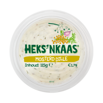 HEKS'NKAAS® Mosterd Dille