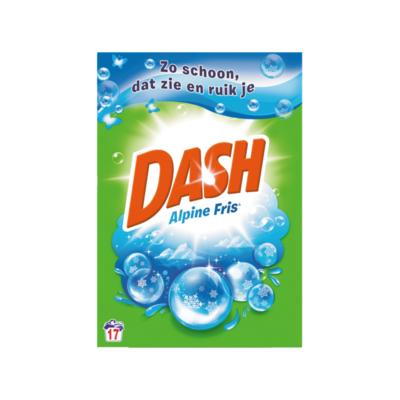 Dash Alpine Fris Waspoeder 1,105 kg 17 Wasbeurten