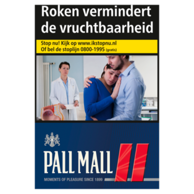 Pall Mall Sigaretten filter rood New Orleans