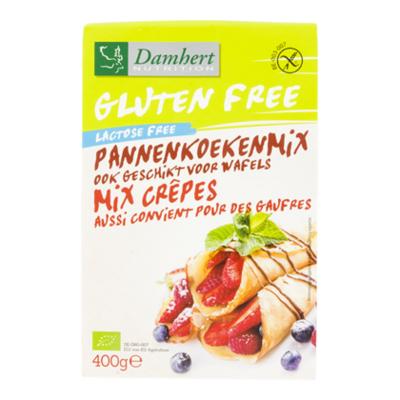 Damhert Lactosevrij glutenvrije pannenkoekmix